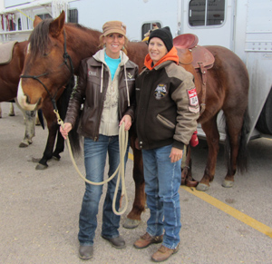 Heather, Pistol and NFR Barrel Racer, Tana Poppino