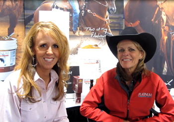 Heather Smith and 2012 World Champion, Mary Walker