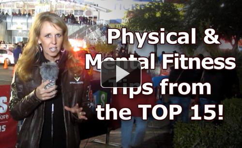 Train Like an Athlete - WIN Like a Champion!  Fitness Tips from the Top 15