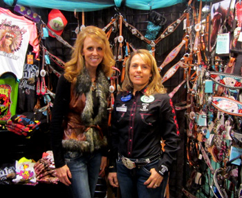 Heather Smith and NFR Barrel Racer, Michele McLeod