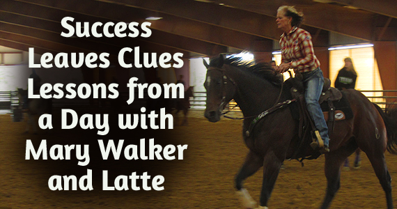 Success Leaves Clues – Lessons from a Day with Mary Walker and Latte