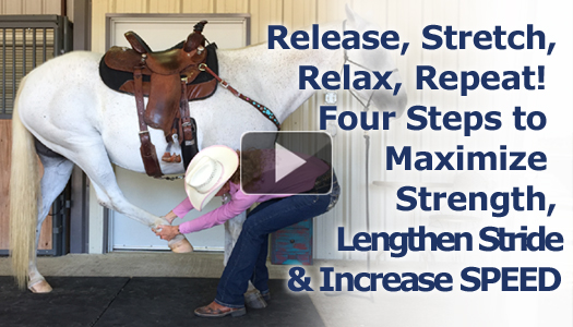 Release, Stretch, Relax, Repeat!  Four Steps to Maximize Strength, Lengthen Stride & Increase SPEED