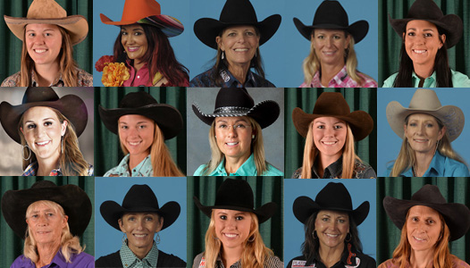 2015 NFR Barrel Racers