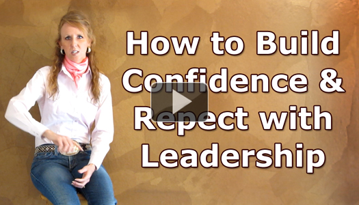 How to Build Your Barrel Horse's Confidence and Respect with Leadership