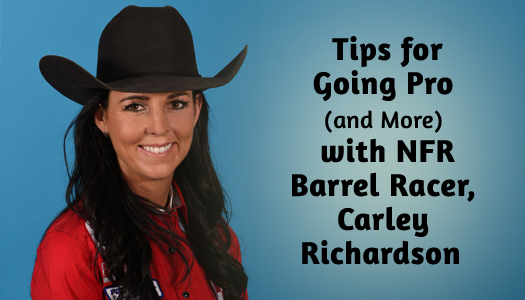NFR Barrel Racer Carley Richardson