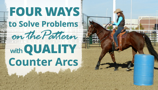 Four Ways to Solve Problems on the Barrel Pattern with Quality Counter Arcs