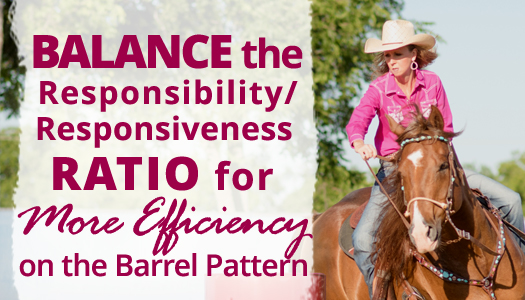 How to Balance the Responsibility/Responsiveness Ratio for More Efficiency on the Barrel Pattern