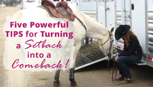 Five Powerful Tips to Turn a Setback into a Comeback!