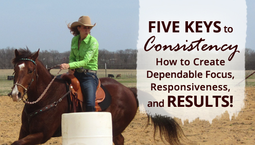Five Keys to Consistency – How to Create Dependable Focus, Responsiveness and RESULTS!