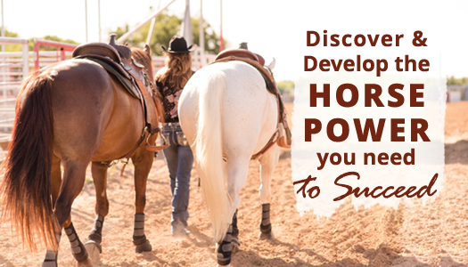 Discover and Develop the Horse Power You Need to Succeed!