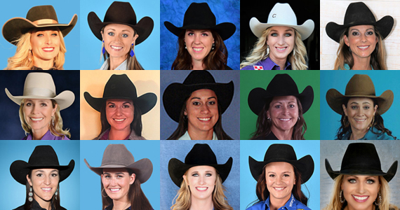 2017 NFR Barrel Racers