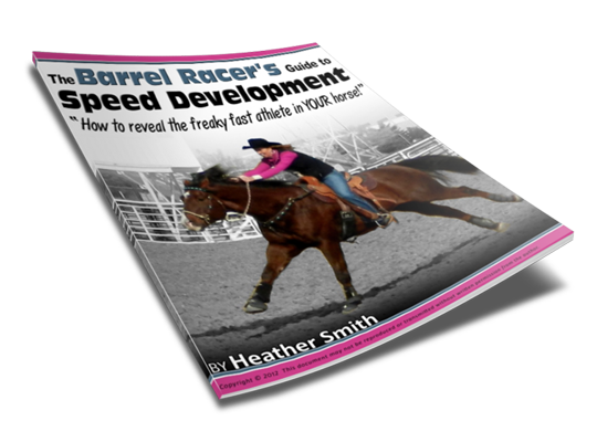 10-page Barrel Racer's Guide to Speed Development PDF