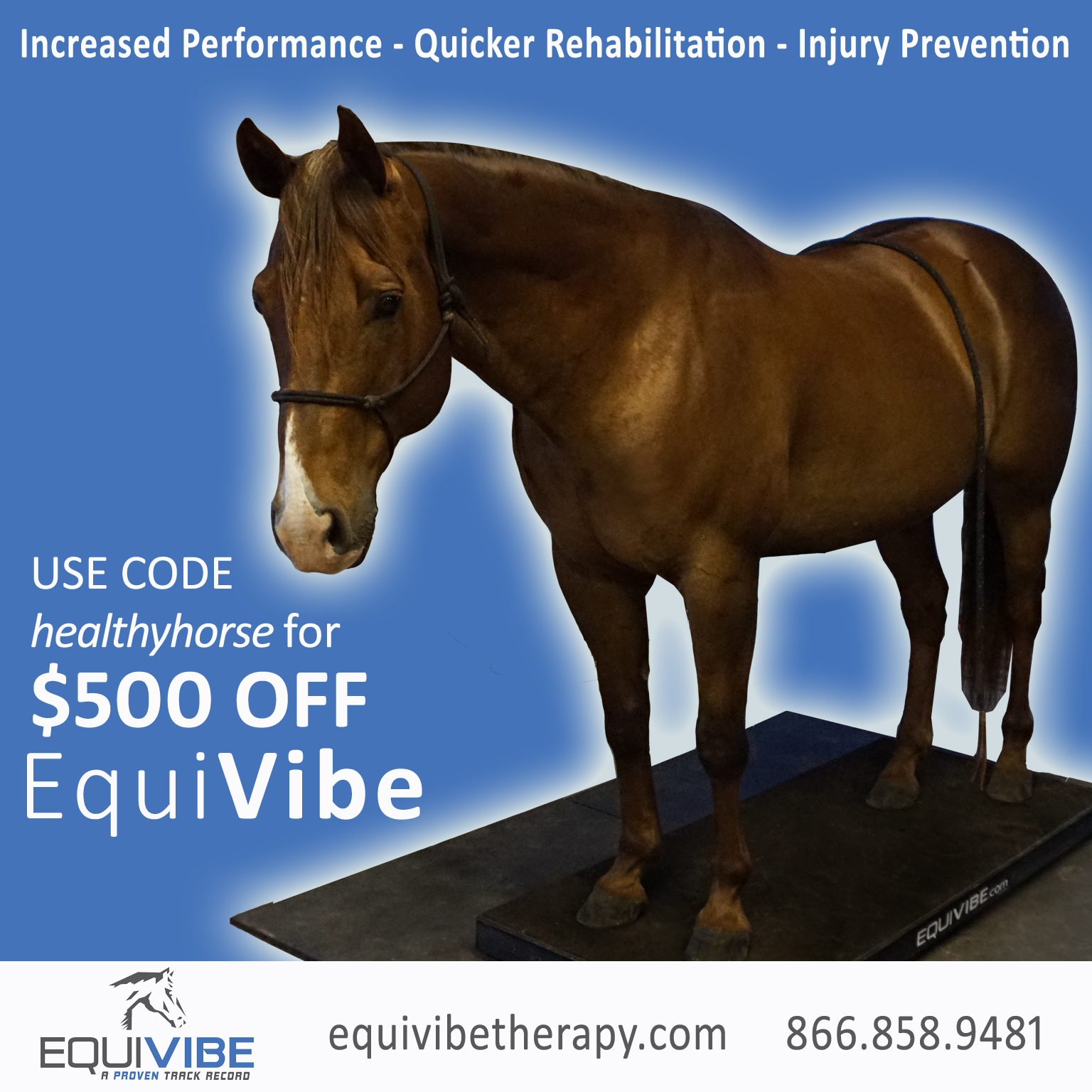 Get $500 Off EquiVibe