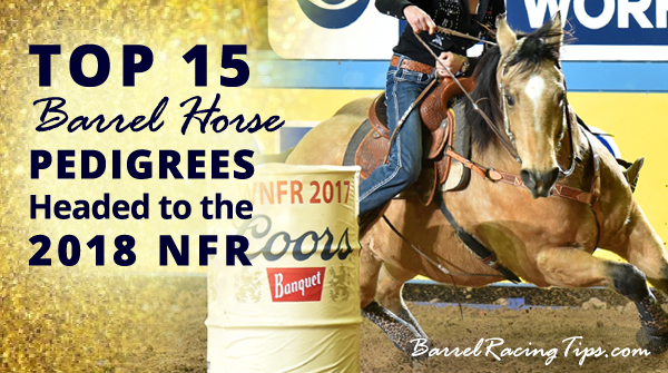 Top 15 Barrel Horse Pedigrees Headed to the 2018 NFR