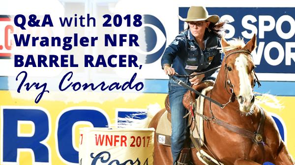 2018 NFR Barrel Racer Ivy Conrado
