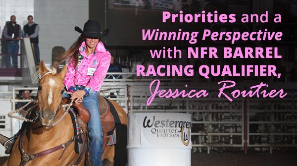 2018 NFR Barrel Racer Jessica Routier