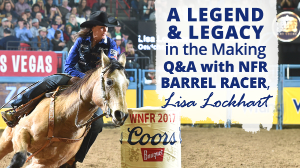 2018 NFR Barrel Racer Lisa Lockhart