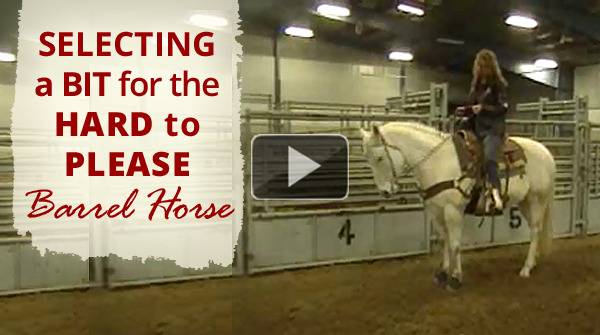 Selecting a Bit for the Hard to Please Barrel Horse