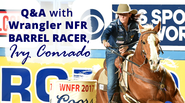 NFR Barrel Racer Ivy Conrado